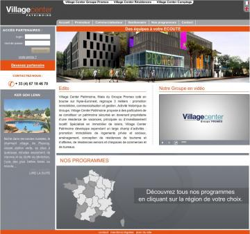 Ste web Village Center Patrinoime